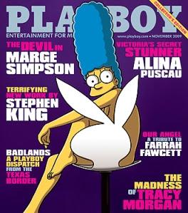 Marge Simpson Is Playboy Magazine's November Playmate
