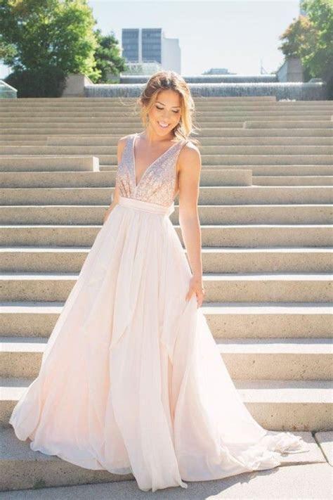 25  best ideas about Rose gold wedding dress on Pinterest