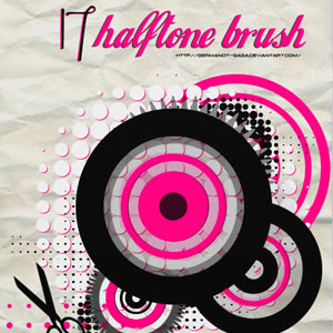 Free Photoshop Brush Sets Halftone Brushes Pack 2
