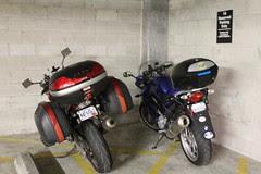 our bikes meet