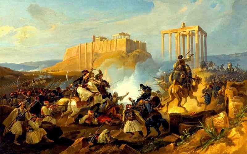 Αποτέλεσμα εικόνας για 1821 προδομενο απο ξενους