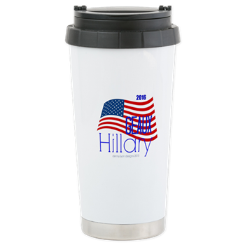 Geaux Hillary 2016 Travel Mug