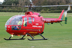 G-NAAA - 1993 build Bolkow Bo105DBS-4, temporarily with the NW Air Ambulance