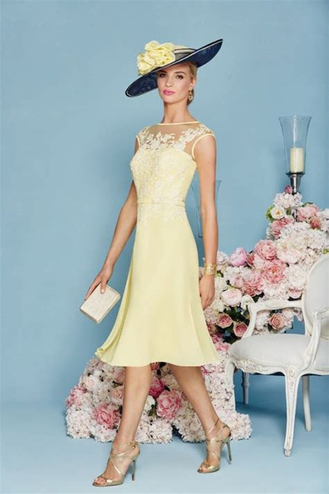 stunning yellow mother   bride dress  jacket lace
