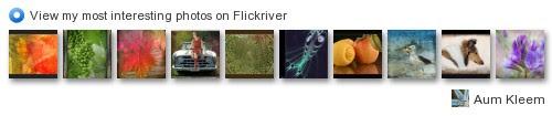 Aum_Kleem - View my most interesting photos on Flickriver