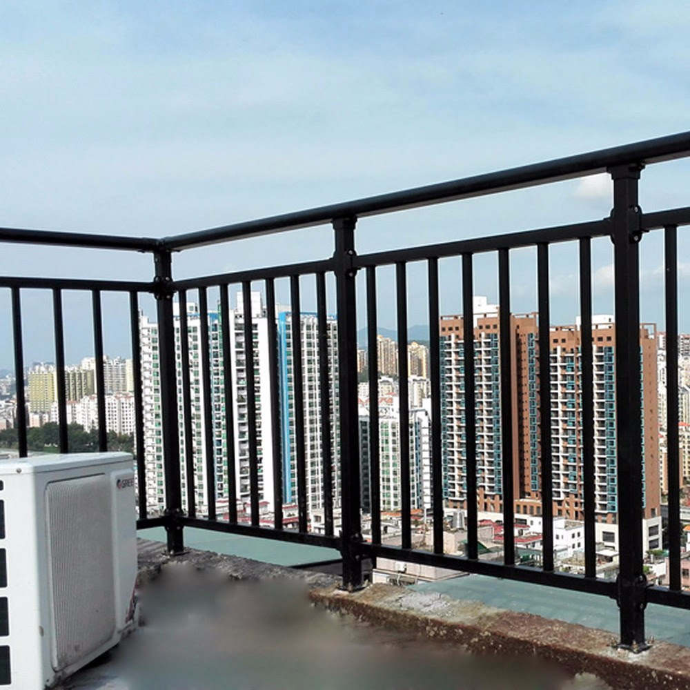 Factory Price Balcony Steel Grill Designsterrace Railing Designs
