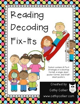 Reading Decoding Fix-its