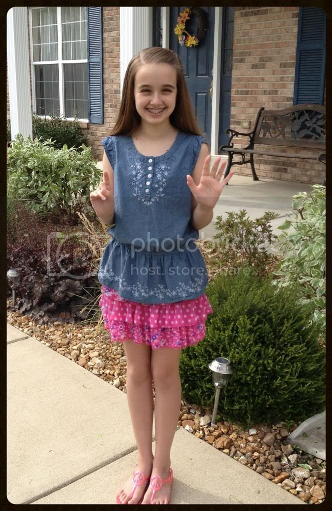 First Day Pictures (6th Grade)