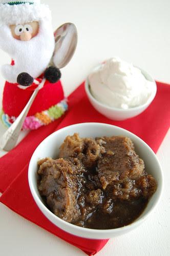 Nigella's Holiday hot cake / Bolo quente de Natal da Nigella