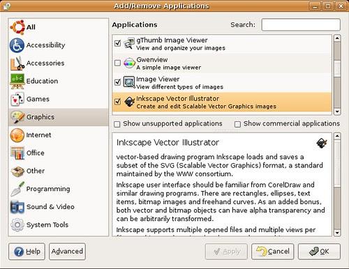 Ubuntu's program installation program