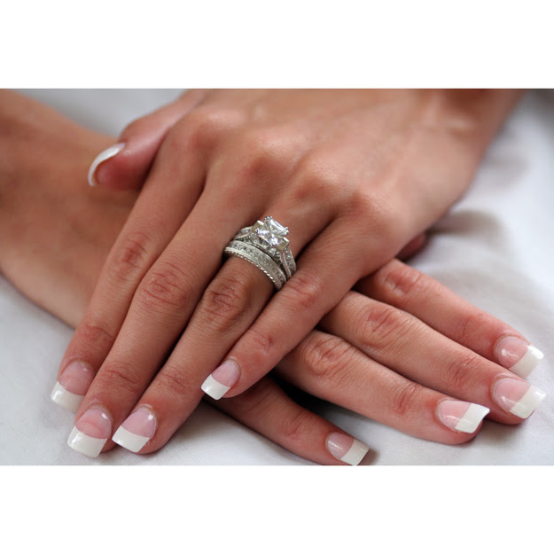 How To Wear Wedding Ring Set Laura Williams
