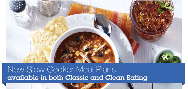 eMeals launches Slow Cooker Classic or Clean Eating Meal Plans