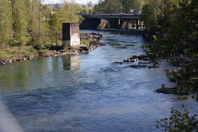 82nd Drive Bridge, Clackamas River