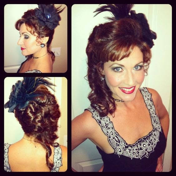 Old Western Hairstyles Saloon Girl Hairstyle | Hair/Beauty ...