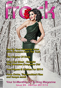 Frock Transgender Magazine for transsexuals, crossdressers, drag artistes and all transgendered people everywhere