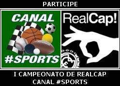 I Campeonato de RealCap do Canal #Sports
