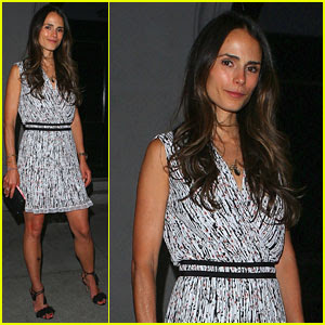 Jordana Brewster & Husband Andrew Form Have Date Night at Craigs