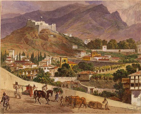 Karl Briullov: Landscape on the island of Madeira