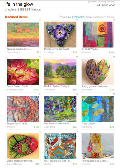 Life in the Glow Treasury