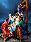 [Jesús es bajado de la cruz]