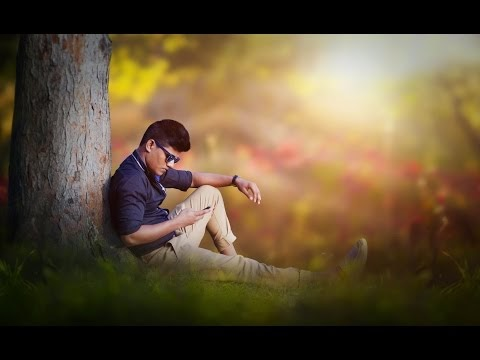 Photo Manipulation Change Background & Create Blur and Soft Light Effect...