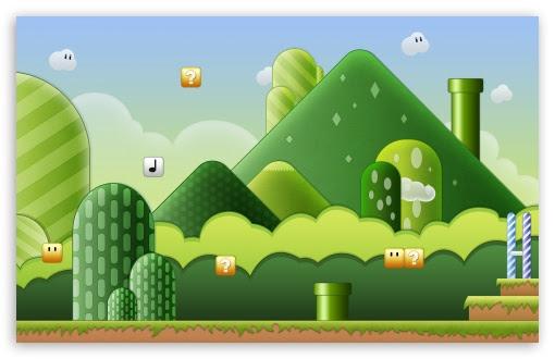Super Mario Bros 4k Hd Desktop Wallpaper For Dual Monitor Desktops