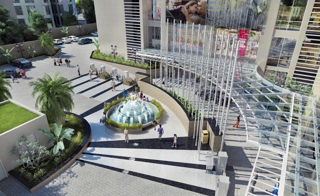 Khuôn viên Hồ Gươm Plaza