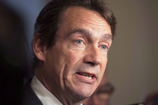 Le chef du Parti québécois, Pierre Karl Péladeau.... (PHOTO ARCHIVES LA PRESSE CANADIENNE)