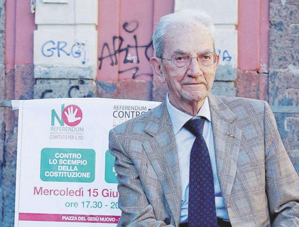 Partigiano – Carlo Smuraglia, 93 anni, da 5 anni presidente dell'Anpi