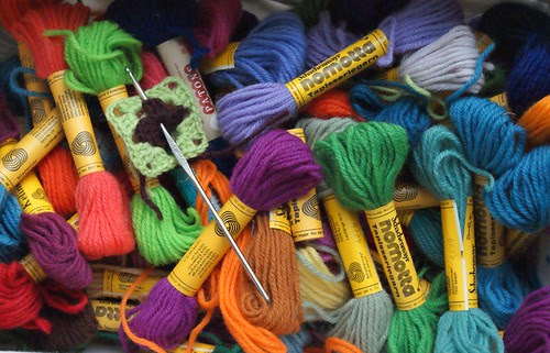 wool for grannies