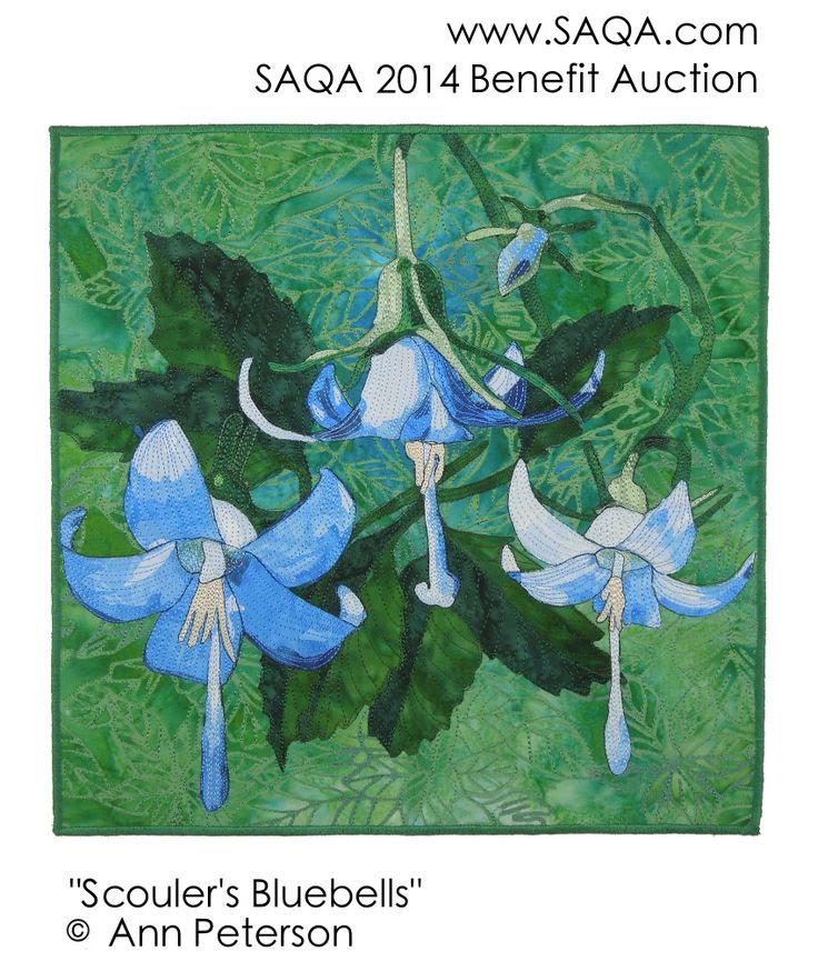 Art quilt by Ann Peterson #artquilts #SAQA