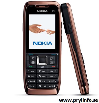 nokia e51 mobiltelefon 5