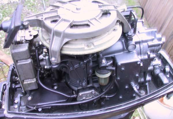 Manual Start Mariner 40hp Charging Cables