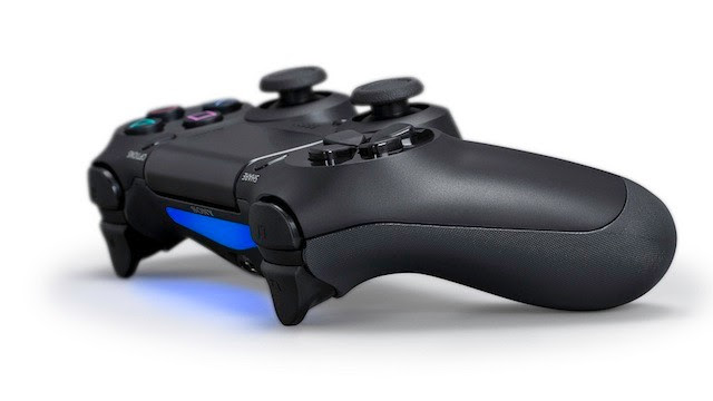 PHOTO: Sony's Controller for the PlayStation 4.