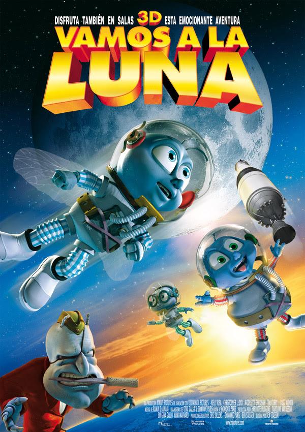 Vamos a la Luna (Ben Stassen, 2.008)