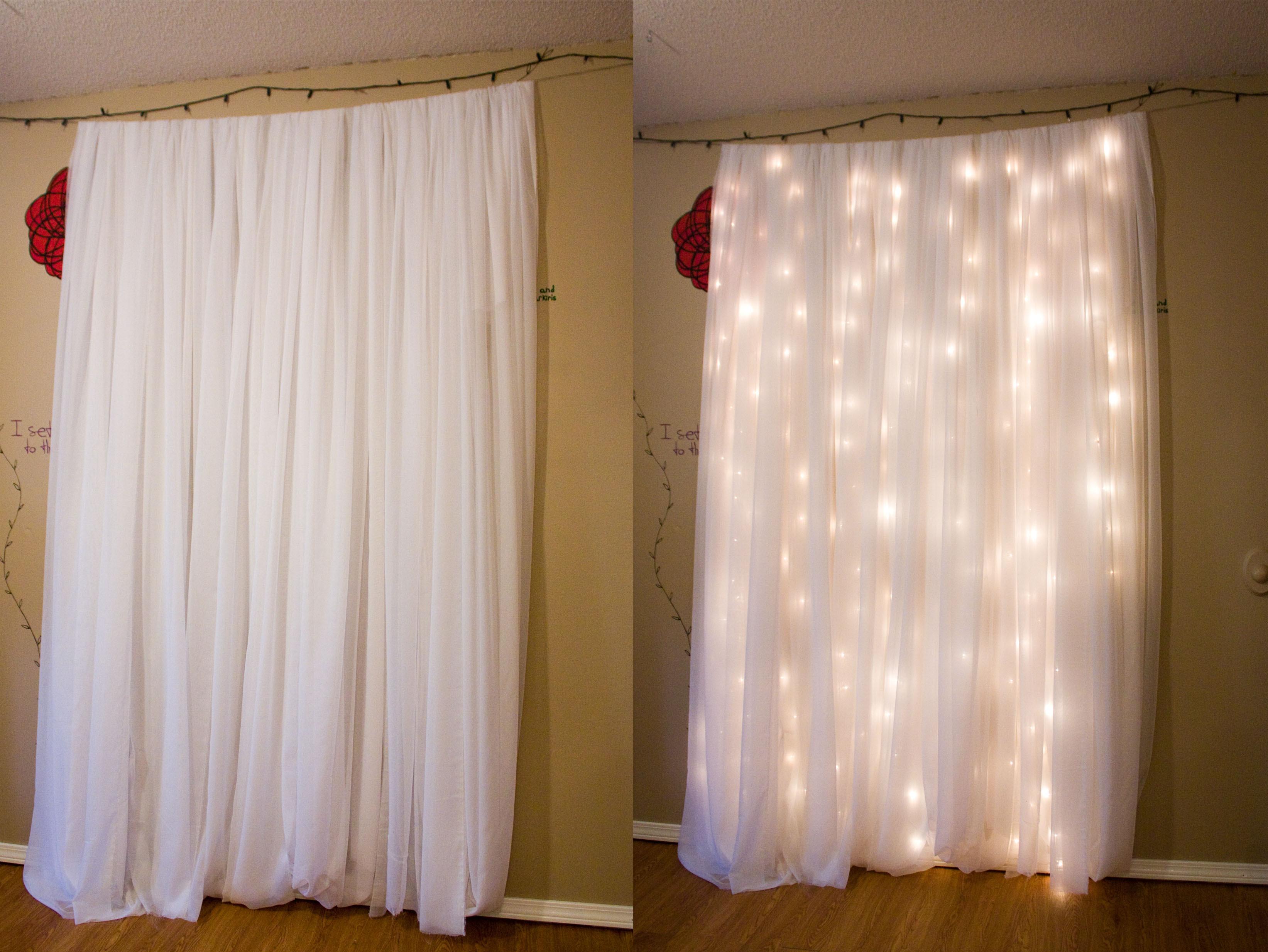 Christmas Light Wedding Backdrop Christmas Ideas
