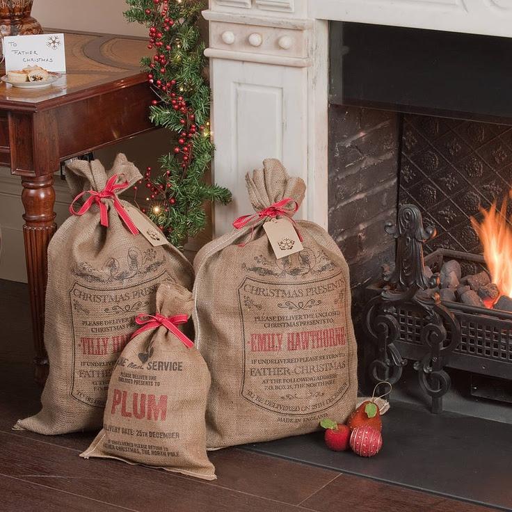 Personalised Burlington Christmas Sack by Harrow & Green
