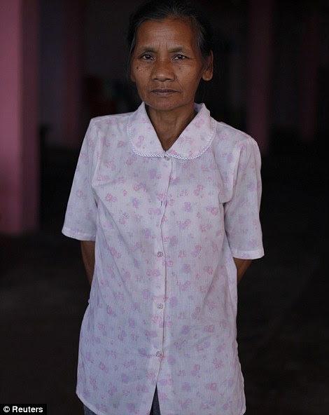 Sangi, 62 anos, esposa de Ziona