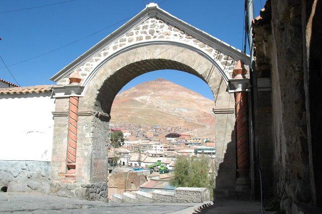 la ville de Potosi (plus haute ville du monde) Bolivie à 4,000 metre d'altitude
