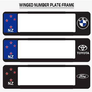 New Zealand Laser Cutting Laser Engraving Number Plate Surrounds