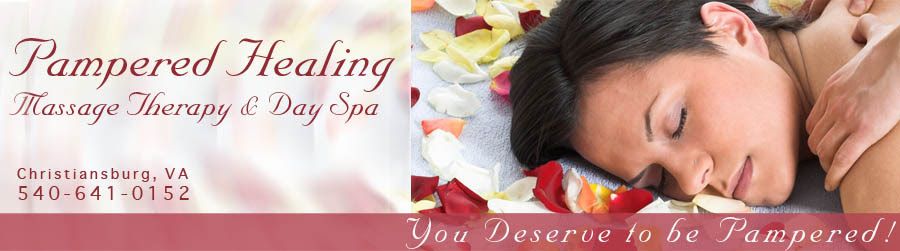 Pampered Healing Massage, Skin Care and Day Spa Serving ...