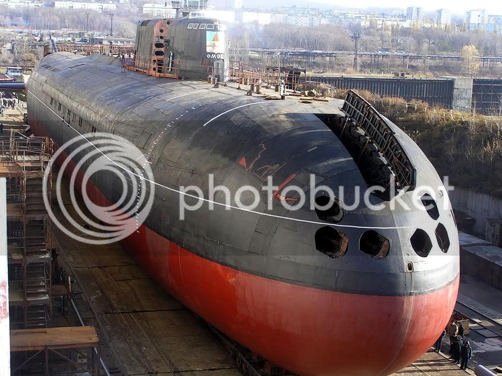 Submarino Soviético Clase Oscar II