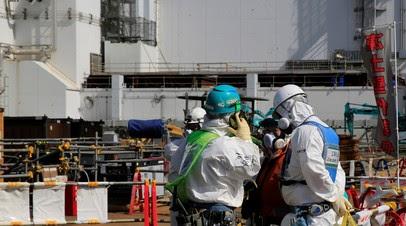 В Японии решили сбросить в море воду с АЭС «Фукусима-1»