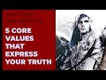 VITAL TRUTH - 5 CORE VALUES - VIDEO