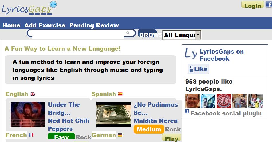 lyricsgaps.com - screenshot - muwasalat.com