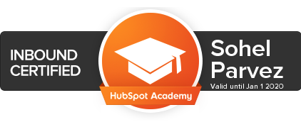 HubSpot Inbound Certified Professional Badge