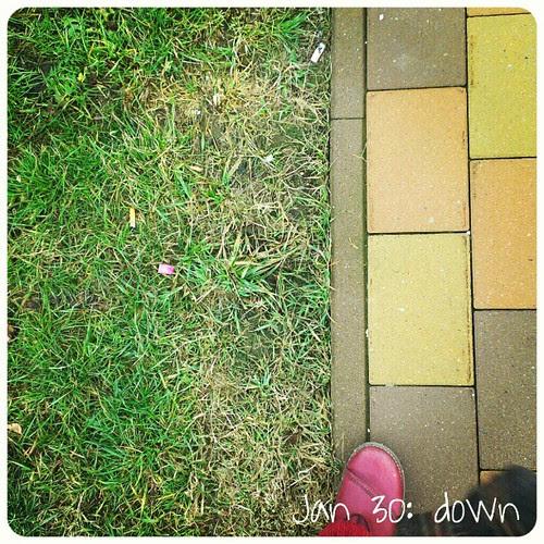 Jan 30: down .. #fmsphotoaday