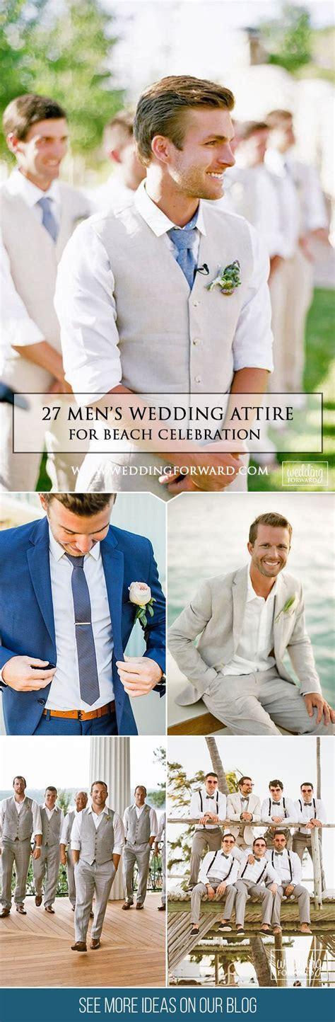 24 Men's Wedding Attire For Beach Celebration   Wedding