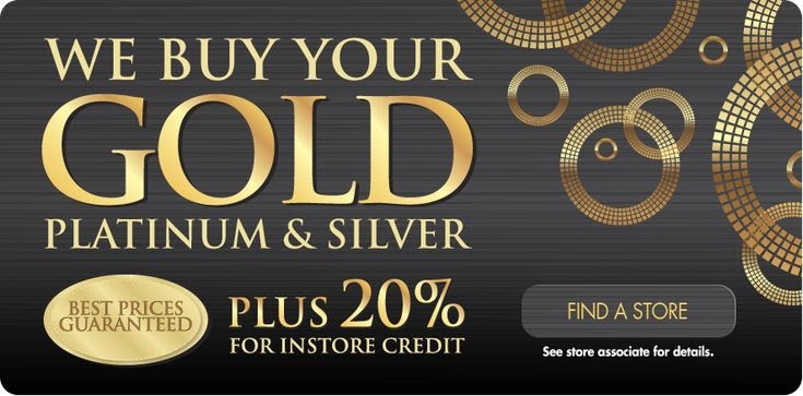 We buy gold! - Samuels Jewelry Specials - Pinterest
