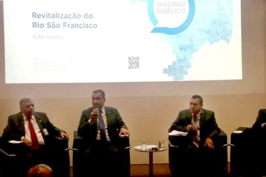 Governador Rui Costa participa do 'Diálogo Público: Revitalização do São Francisco'.